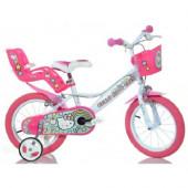 Bicicleta Hello Kitty - 14 polegadas