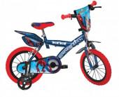 Bicicleta Spiderman 16 polegadas