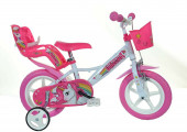 Bicicleta Unicórnio 12 polegadas