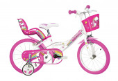 Bicicleta Unicórnio 16 polegadas