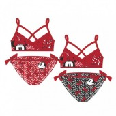 Biquini Disney Minnie Mouse Red