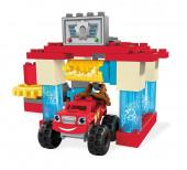 Blaze Lavagem Auto de Axle City Mega Bloks