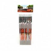 Blister 10 lápis com borracha Cars