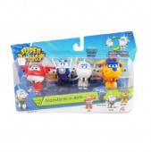 Blister 4 Fig. Super Wings Transformáveis II