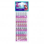 Blister 6 lápis c/ borracha Enchantimals
