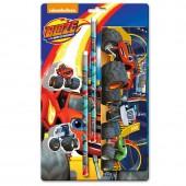 Blister papelaria Blaze and The Monster Machine 5 Pçs