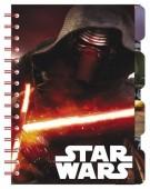 Bloco A5 com marcadores de Star Wars