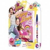 Bloco + caneta Sou Luna