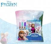 Bloco + canetas Frozen Sisters