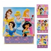 Bloco notas Princesas Disney, sortido