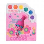 Bloco pintura Trolls True Colors