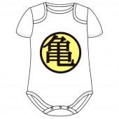 Body Bebé Branco Dragon Ball