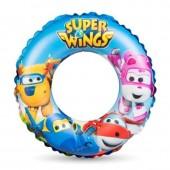 Boia insuflável piscina/praia Super Wings