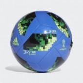 Bola Futebol Adidas World Cup Glider Nº 5 Russia 2018 - Azul