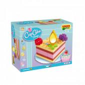 Bolo Aniversário Cup Cake Design 14 pcs Unico Plus