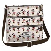 Bolsa 3 fechos Minnie Disney - Ivory