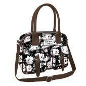 Bolsa Attache Betty Boop - Noir