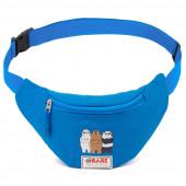 Bolsa Cintura We Bare Bears Azul