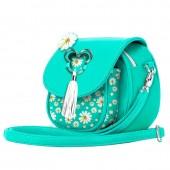 Bolsa com aba do Mickey Disney -  Aqua