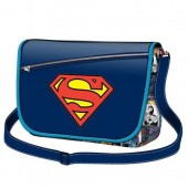 Bolsa com aba Superman