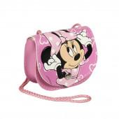 Bolsa com Cordão Minnie Rosa