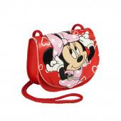 Bolsa com Cordão Minnie Vermelha