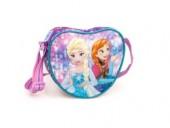 Bolsa com formato coração Frozen