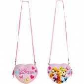 Bolsa Coração Princesas Disney 3D