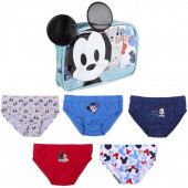 Bolsa + Cuecas Slips Bebé Mickey