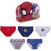 Bolsa + Cuecas Slips Spiderman