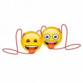 Bolsa Emoji Forma redonda Sortido