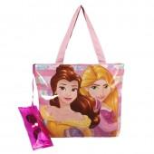 Bolsa + estojo de Praia Princesas Disney