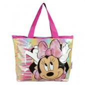 Bolsa grande Praia Minnie Mouse 48x35x14cm