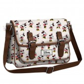 Bolsa grande Satchel Minnie Disney - Ivory