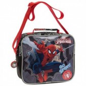 Bolsa lancheira adap trolley Marvel Spiderman Go Spidey
