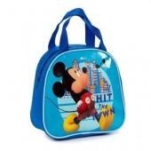 Bolsa Mão Lancheira com Alças Mickey Mouse
