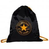 Bolsa multiusos com cordões Converse All Star - Preto