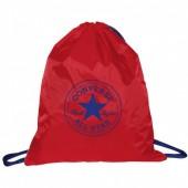 Bolsa multiusos com cordões Converse All Star -Vermelha