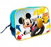Bolsa Necessaire adap. c/ pega de Mickey Fun Starts Here
