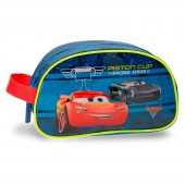 Bolsa necessaire adapt c/ alça Disney Cars - Racing Series