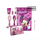 Bolsa necessaire c/ acessórios Minnie