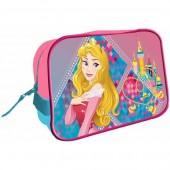 Bolsa necessaire quadrada Princesas Disney
