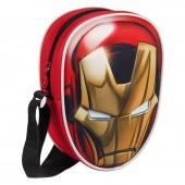 Bolsa ombro dos Vingadores da Marvel 3D Iron Man