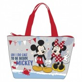 Bolsa Praia Minnie - Oh I do like to be beside Mickey