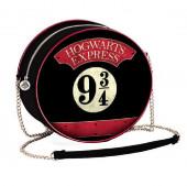 Bolsa Redonda Hogwarts Express 9 3/4 Harry Potter
