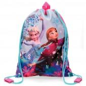 Bolsa saco com cordões  Frozen - Star