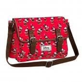 Bolsa Satchel 26cm Minnie Disney - Cheerful