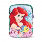 Bolsa tablet Princesa Ariel Coral