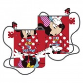 Bolsa tiracolo 22cm Minnie e Mickey Mouse