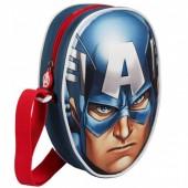 Bolsa tiracolo Avengers 3D Marvel Capitão América